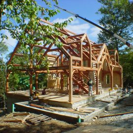 ALL TIMBERS ERECTED